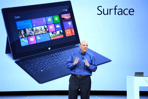 Steve Ballmer and Surface