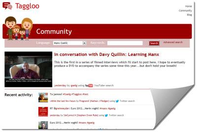 Taggloo community screenshot